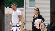 JWoww -- Brings Home Baby ... And Breast Friend