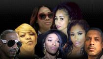 'Love & Hip Hop: Atlanta' Brawl  -- Joseline Bit The Flesh Off a Guard ... Cast Wants her FIRED