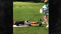 NHL Star Tyler Seguin -- Uses Penis as a Golf Tee