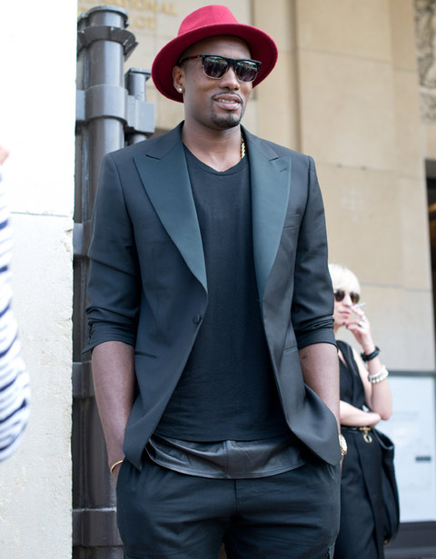 It's NBA Baller Serge Ibaka!