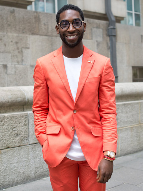 It's Hipster Singer Tinie Tempah!