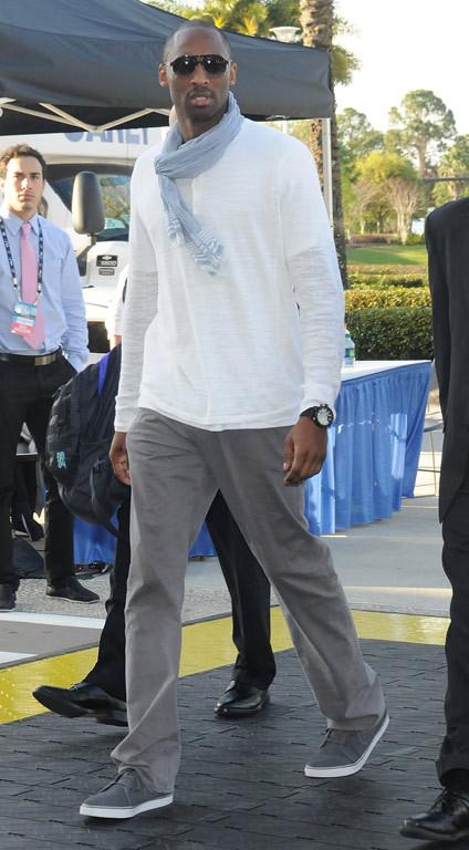 It's NBA Baller Kobe Bryant!