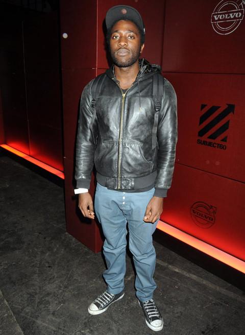 It's Hipster Singer Kele Okereke!