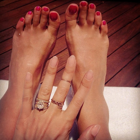 Guess whose famous feet!