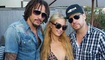 Team USA Soccer Star -- PARTYING WITH PARIS HILTON ... And Charlie Sheen!