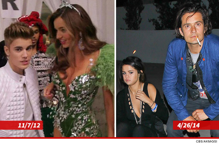 36f663c7bd5 Justin partied with Orlando s then-wife Miranda Kerr after a 2012  Victoria s Secret fashion show in NYC and they got very VERY close.