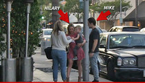 Hilary Duff & Mike Comrie -- DINNER IN BEV HILLS ... After Singer Opens Door for Reconciliation