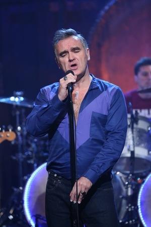 Morrissey -- Live Performance Photos