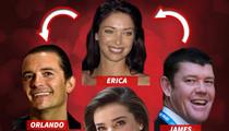 Orlando Bloom, Miranda Kerr ... Bizarre Billionaire Love Square