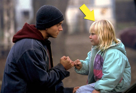 "Chloe Greenfield was only 6-years-old when she played the little sister Lily -- opposite Eminem as B-Rabbit -- in the 2002 rap-battle movie ""8 Mile."""