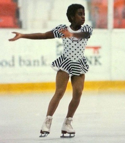 Before this crazy kid was skating through Hollywood as television star she was just another little figure skating fanatic growing up in Medfield,Massachusetts.