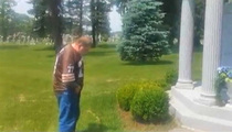 Art Modell Grave Suspect -- Urine Denial ... I Never Whipped It Out