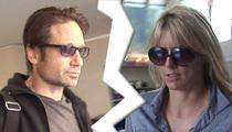 David Duchovny, Tea Leoni Quitely Divorced