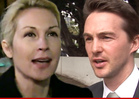 Kelly Rutherford -- Attempt to Keep Kids in U.S. FAILS ... Freaks Out in Court