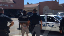 War Machine -- CAPTURED by Cops Outside L.A. (PHOTO)