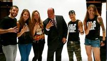 Ronda Rousey -- Hangin' w/ WWE Power Player