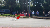 Justin Bieber -- Rear-Ended in West Hollywood