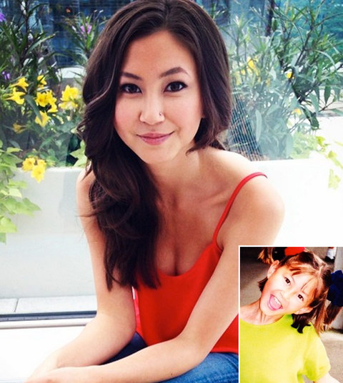 "It's ""Orange Is The New Black"" star Kimiko Glenn!"