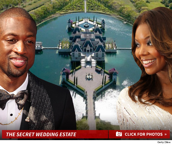 Dwyane Wade & Gabrielle Union -- We're Getting Married ... IN A CASTLE!