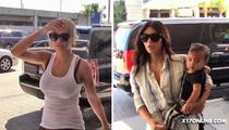 Kim Kardashian and Rita Ora -- Drama Brewing ... On Same Flight Out of LAX