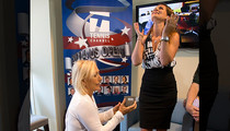 Martina Navratilova Proposes to GF During U.S. Open ... She Said Yes!