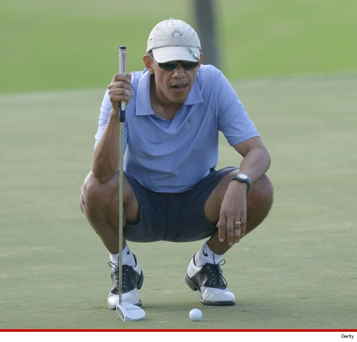 9fd4d7bd8ee62d President Barack Obama -- No Tee Time for You! Dissed by Trump Golf Course