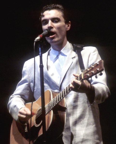 """David Byrne is best known for starting, writing and fronting the new wave rock band """"Talking Heads."""""""