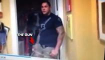 UFC -- Fires Thiago Silva ... After Gun Video Surfaces