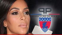 Paris Cops -- We Don't Care about Kim Kardashian