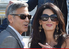 George Clooney -- OFFICIALLY MARRIED
