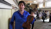 Joshua Bell -- Oh, This Old Thing? It's Just My $15 Million Violin!!! (VIDEO)