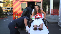 Karina Smirnoff -- Carted Off 'DWTS' Set ... With Multiple Injuries