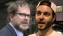 Rainn Wilson -- Drops Vine Criminal From TV Show