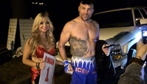 Randy Couture -- Chuck Liddell Gave Me His Shorts ... For Killer Halloween Costume