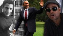 Hill Harper -- Hey, Mr. President ... 'Memba Me? From Harvard?