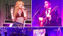 Kerkorian Bar Mitzvah -- We're So Rich ... Iggy and Nick are Hired Help! (PHOTOS)