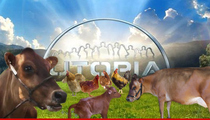 UTOPIA TV Show -- Farm Animals Can Stay ... Humans, Keep Off the Grass