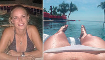 Serena & Caroline -- Kick Manhunt Into Overdrive ... With Hot Bikini Selfies