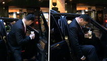 """Yao Ming -- 7'6"""" vs. Passenger Seat ... The Struggle Is REAL!!!"""