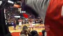 Kris Humphries -- Taunted with 'Kanye' Chant ... During NBA Game