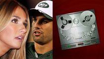 Eric Decker's Wife -- HE'S DEPRESSED ... About Terrible Jets Season