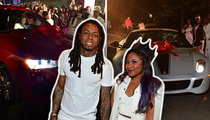 Lil Wayne's Daughter -- 16 Candles & TWO Freakin' CARS!!