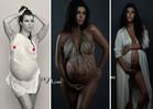 Kourtney Kardashian -- Breaking the Internet Is Tougher When You're Pregnant (PHOTO)
