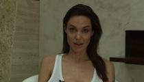 Angelina Jolie -- I've Been Broken by CHICKENPOX!! (VIDEO)