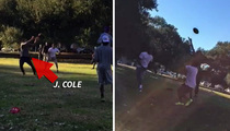 J. Cole -- I'm Going Back To College ... to Play Touch Football