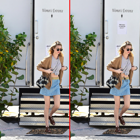 Can you spot the THREE differences in the Whitney Port photos?