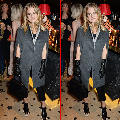Can you spot the THREE differences in the Alice Eve photos?