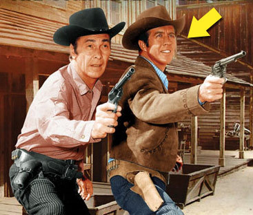 "Clu Gulager is best known for playing the tamed down version of Billy The Kid in the early '60s western ""The Tall Man."""