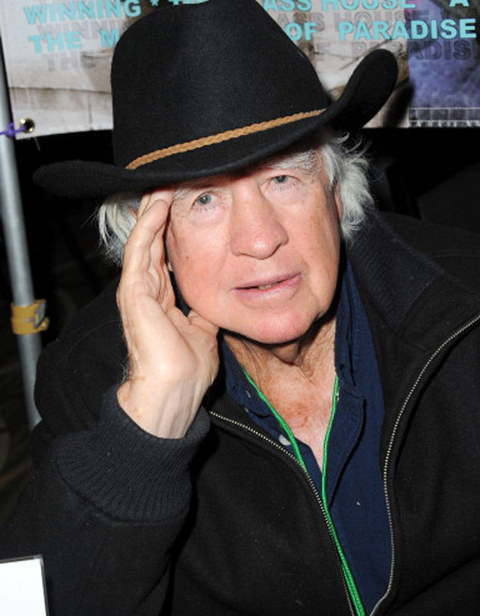 Clu Gulager was photographed looking law abiding.