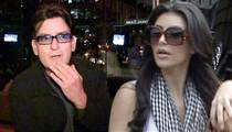 Charlie Sheen to Kim K ... 'Go F Yourself' ... and Your Ass is 'Gross' and 'Giggly'